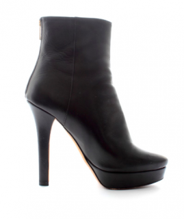 Jimmy Choo Magic Platform Leather Ankle Boots