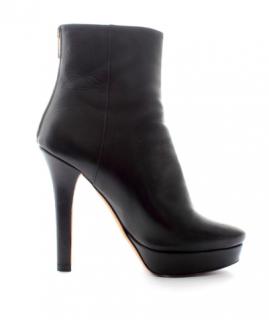 Jimmy Choo Magic Platform Leather Ankle Boots