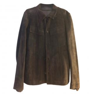 Yves Saint Laurent Suede Jacket