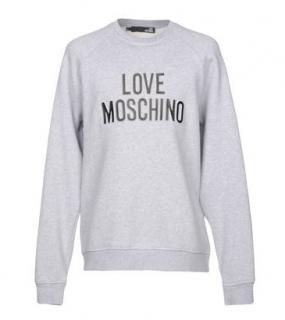 Love Moschino Grey Sweatshirt