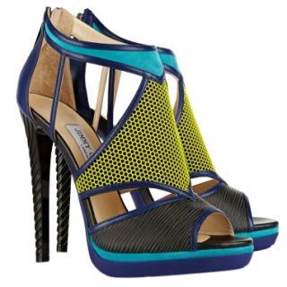 Jimmy Choo Lythe Colour-Block Sandals