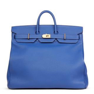 475d546669f31e Hermes Blue Electric Togo Leather Birkin 50cm