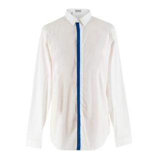 Dior Men's White Cotton-blend Shirt