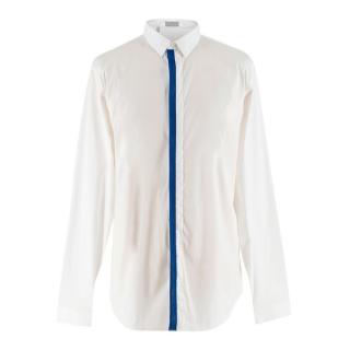 Dior Men's White Cotton-blend Shirt