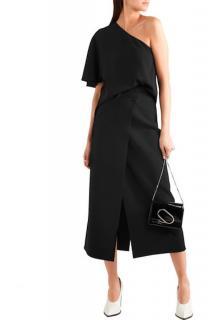 Joseph Black Midi Skirt