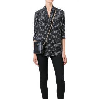 Equipment x Kate Moss Star-Print Silk Shirt