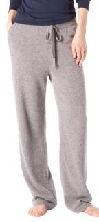 Sunspel Marble-Grey Wool Trousers