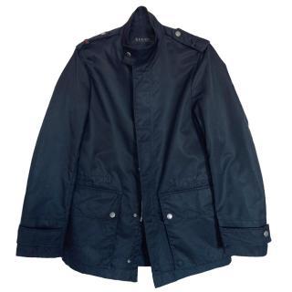 Gucci High-Neck Black Jacket