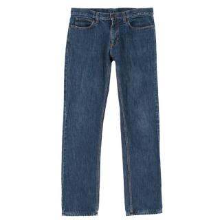 Lanvin Men's Blue Jeans