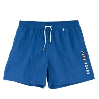 Loro Piana Blue Swim Shorts