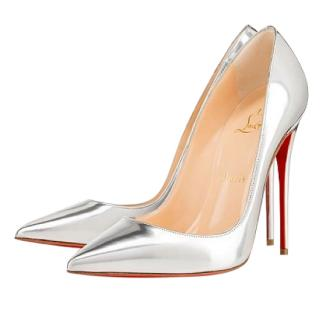 Christian Louboutin So Kate Mirrored Leather Pumps