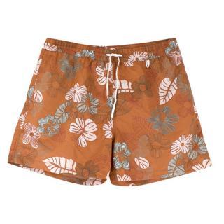 Loro Piana Printed Swim Shorts