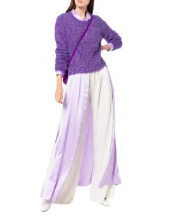 Sies Marjan Jewel Neck Lurex Sweater