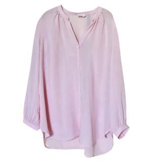 Filippa K Pink Crepe Blouse