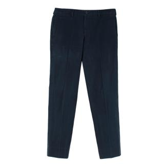 Spencer Hart Men's Navy Casual Trousers