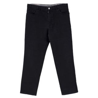 Brioni Men's Stelvio Black Jeans