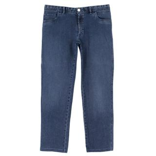Brioni Men's Stelvio Blue Jeans