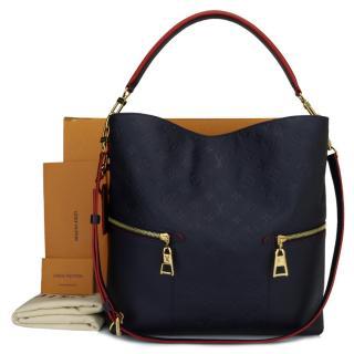 Louis Vuitton Marine M�lie Monogram Empreinte Leather Tote