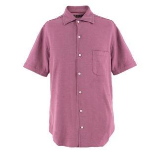 Loro Piana Men's Cotton Polo Shirt