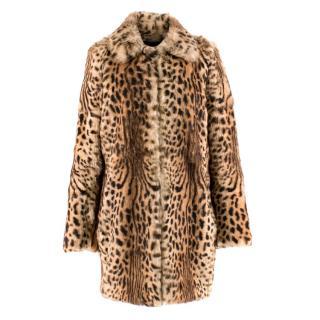 Joseph Rabbit Rur Leopard-print Coat