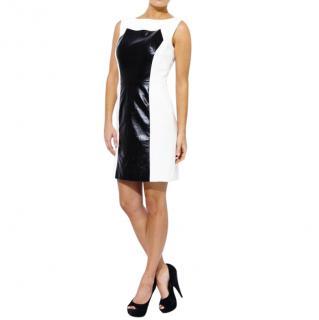 Milly Colour-Block Sleeveless Dress