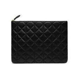 Mulberry x Cara Delevingne Small Quilted-Leather Makeup Bag