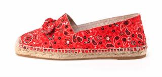 Charlotte Olympia pink fabric espadrilles