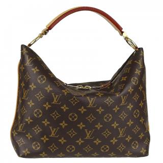 Louis Vuitton Sully PM Brown Monogram Shoulder Bag