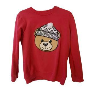 Moschino Teddy Bear red Jumper