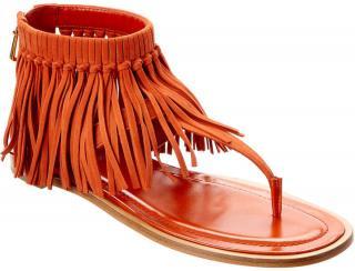 Tod's Aragosta Fringed Sandals