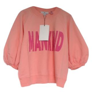 7 For All Mankind Puff Sleeve Sweatshirt