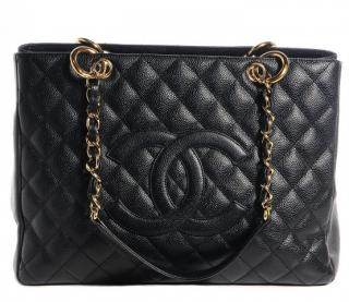Chanel Caviar Leather Black GST