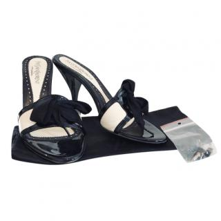 Yves Saint Laurent VIntage Two-Tone Sandals