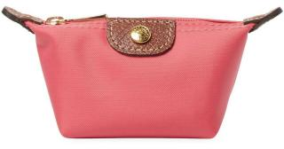 Longchamp Le Pliage Coin Purse In Medium Pink