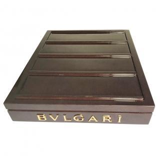 Bvlgari Veneered Wood Jewellery Box