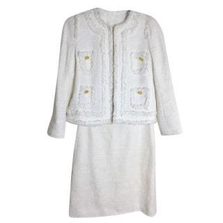 Edward Achour Tweed Suit, Size S