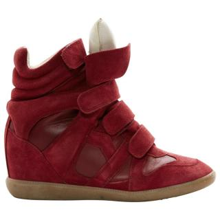 6c5d0931960f Isabel Marant Beckett Trainers in Red