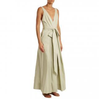 Kalita Poet by the Sea tie-waist cotton dress