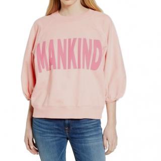 7 For All Mankind 'Mankind' Print Cotton Sweatshirt