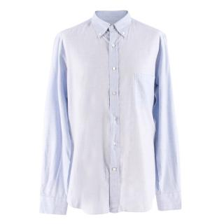 Loro Piana Blue Checkered Shirt