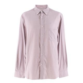 Loro Piana Men's Houndstooth Check Shirt