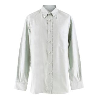 Loro Piana Men's Pale Green Shirt