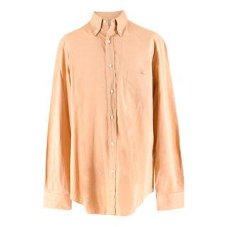 Loro Piana Pale Orange Men's Shirt