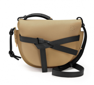 Loewe Mocca & Black Small Gate Bag - New Season