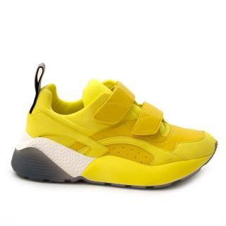 Stella McCartney Yellow Eclypse sneakers