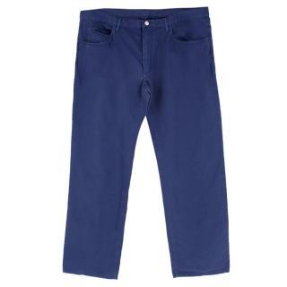 Loro Piana Blue Chino Trousers