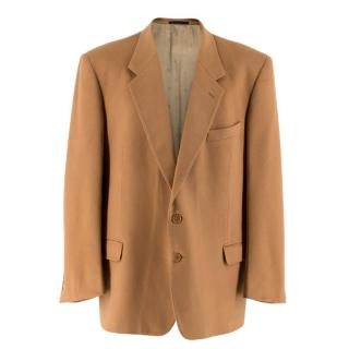 Christian Dior Monsieur Cashmere Single Breasted Blazer