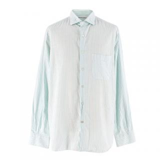 Loro Piana Men's Striped Cotton Shirt