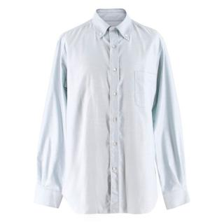 Loro Piana Men's Oxford Cotton Shirt