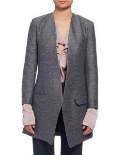 Lanvin Collarless jacket